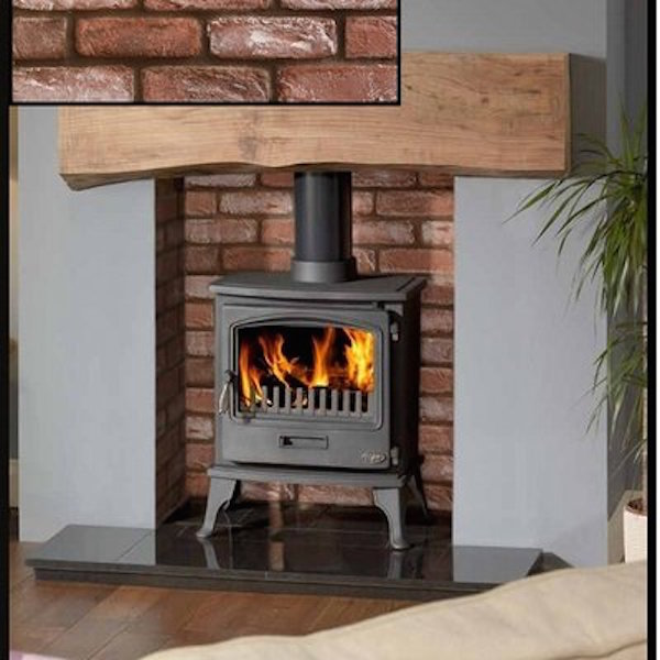 Stone Cladding Surrounds For Wood Burners Hereford Brick