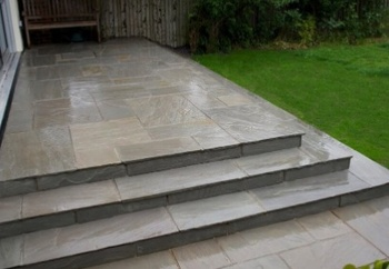 These Kandla Grey Flagstones Are Used Mainly In The Garden For Creating  Patios And Paving Area But Can Be Used On Commercial Building Projects As  Well As ...